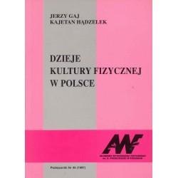 Dzieje kultury fizycznej w Polsce